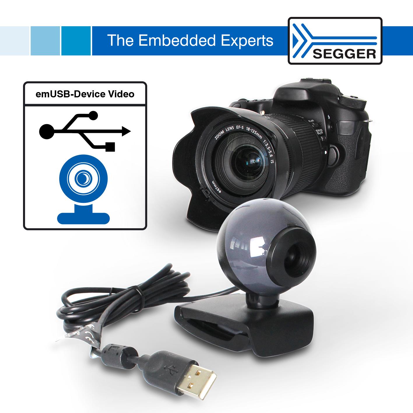 emUSB-Device Video – Easily transmit video via USB