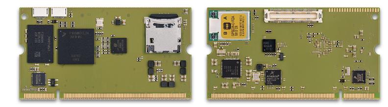 SODIMM-style modules expand upon i.MX8M and i.MX8M Mini