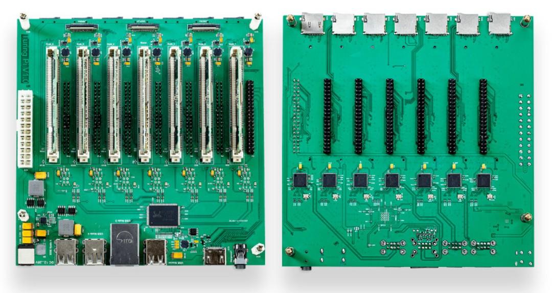 Build a Cluster Computer using 7x Raspberry Pi Compute Modules