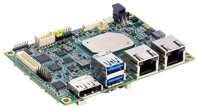 Apollo Lake Pico-ITX SBC supplies mini-PCIe and M.2 expansion