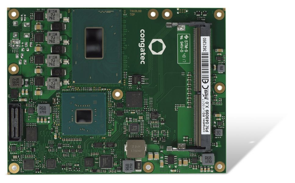 Congatec presents 10 new high-end modules for embedded edge computing