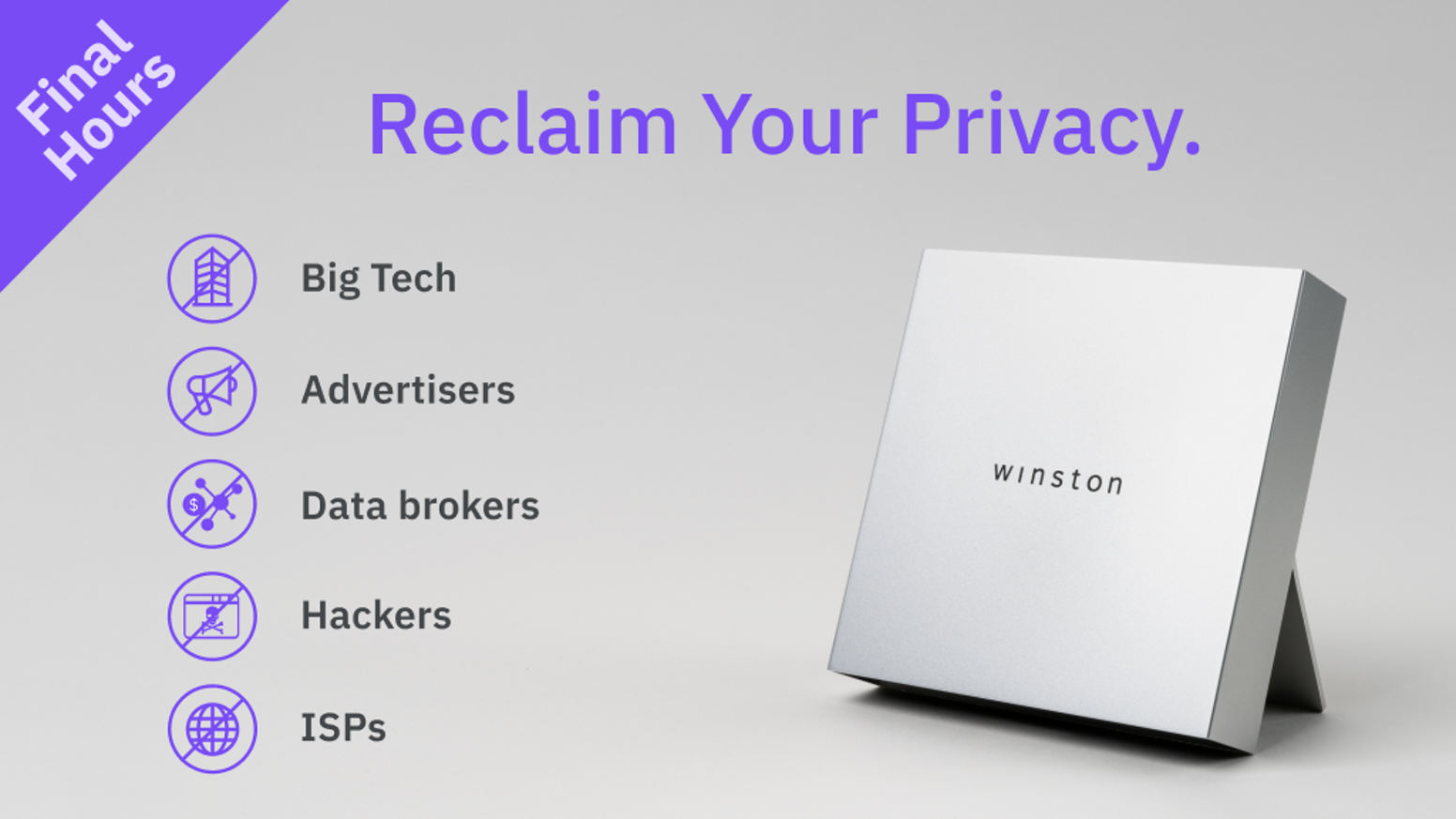 Winston Privacy Web Filter For Ad-Free, Tracking-Free & Anonymous Internet Browsing