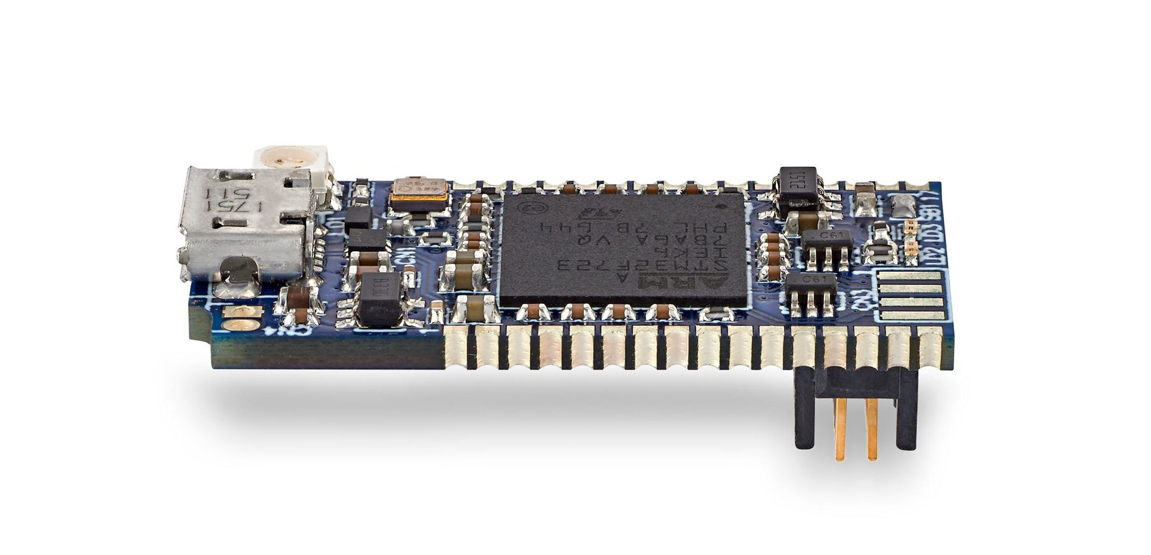 Compact debug probe accelerates STM32 application development
