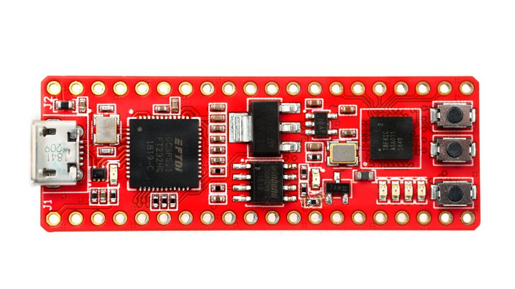 FireAnt – A low-cost, thumb-sized, breadboard-friendly FPGA dev board