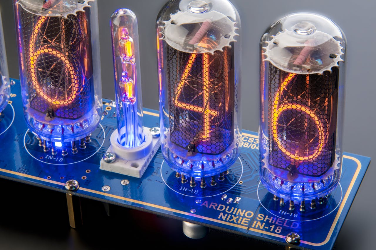 Arduino Clock on IN-18 Nixie Tubes with a LONG Service Life