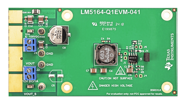 LM5164 – 6V to 100V input, 1-A synchronous buck DC-DC converter with ultra-low