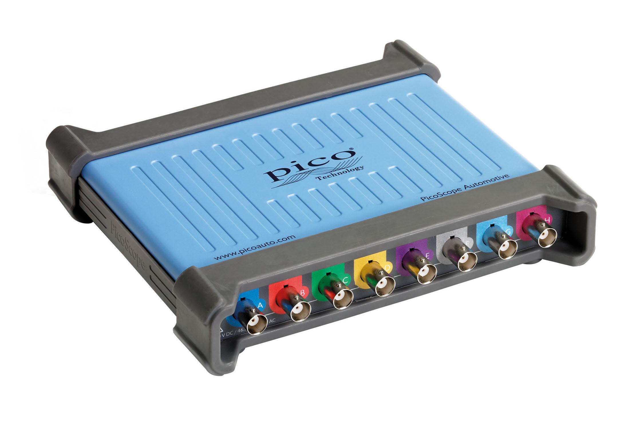 PicoScope 4823 8-Channel Automotive Oscilloscope has USB 3.0