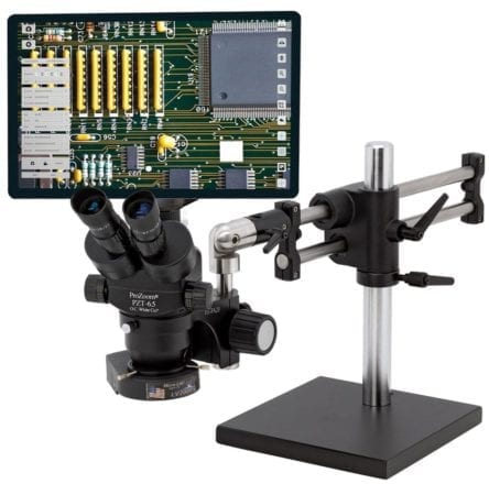 6.5 Trinocular Microscope with 5MP Hybrid HDMI/USB