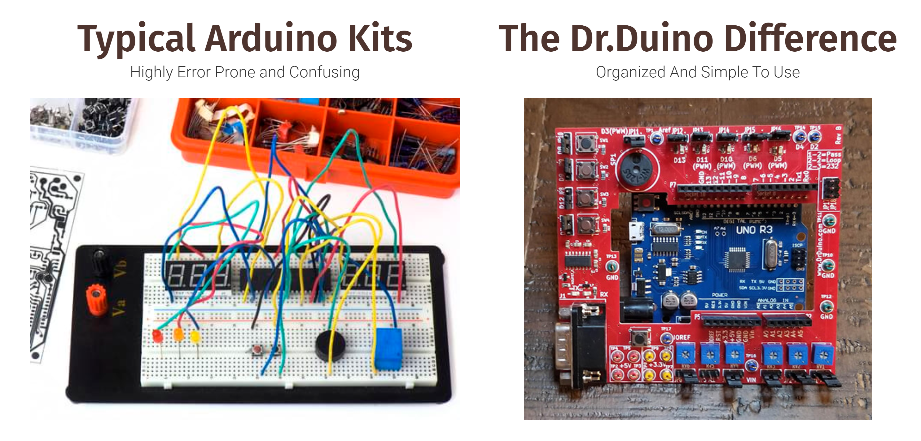 Dr. Duino Arduino Uno Starter Kit