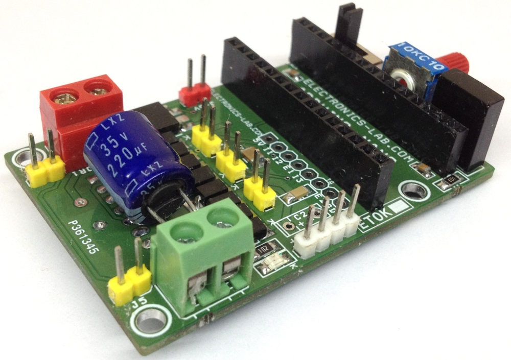 InfraRed Robot Controller Shield For Arduino Nano