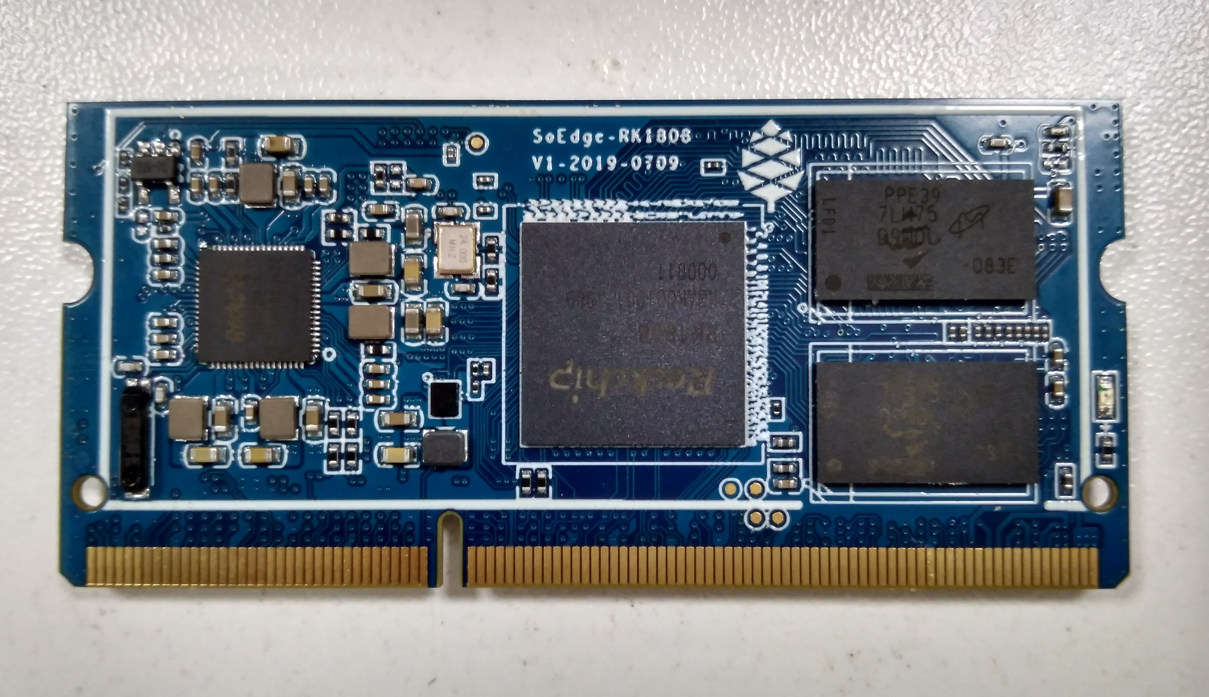 Pine64's SoEdge-RK1808 AI Module Delivers 3.0 TOPS using Rockchip RK1808 SoC