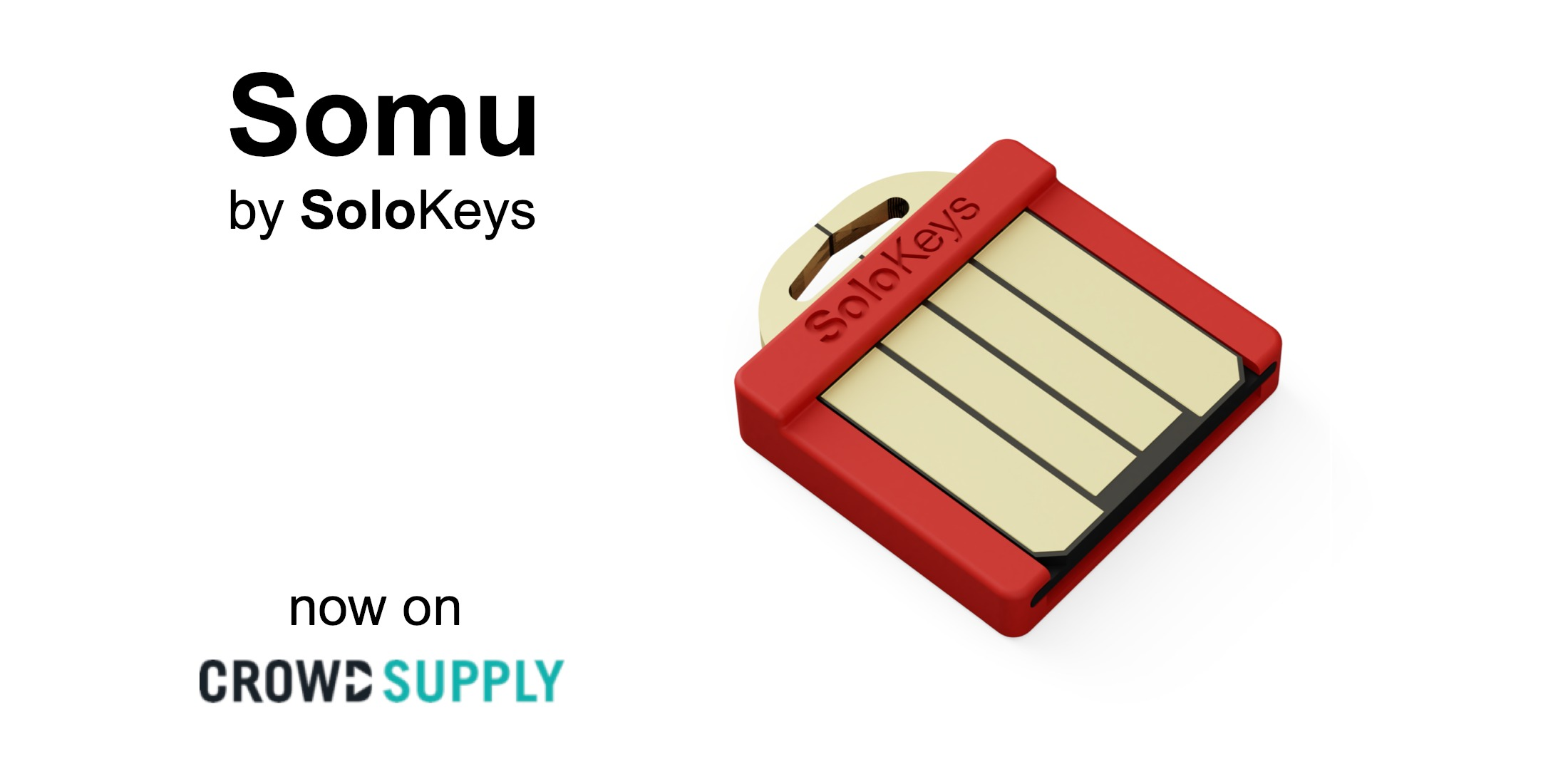 Somu – tiny FIDO2 security key