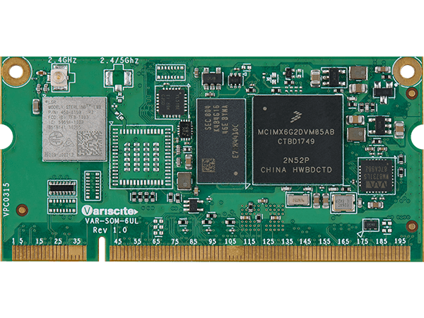 Variscite announced the launch of VAR-SOM-6UL based on the i.MX 6UltraLite processor