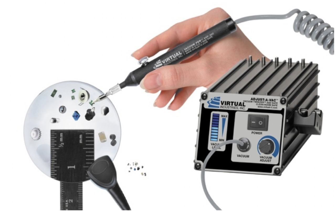 Virtual Industries Launches New Series of VACUUM TWEEZER™ Kits with AUTO-SHUT-OFF Feature