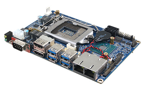 EPS-CFS Intel® 8th/9th Coffee Lake Rugged Fanless Embedded