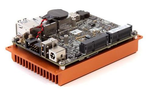 Four Apollo Lake Pico-ITX SBCs