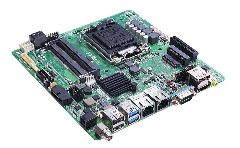 Axiomtek's MANO521 – Intel® Coffee Lake-Based Thin Mini-ITX Motherboard