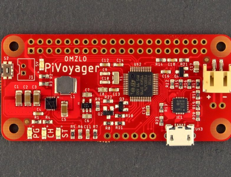 PiVoyager, a UPS for the Raspberry Pi With a Real-Time Clock