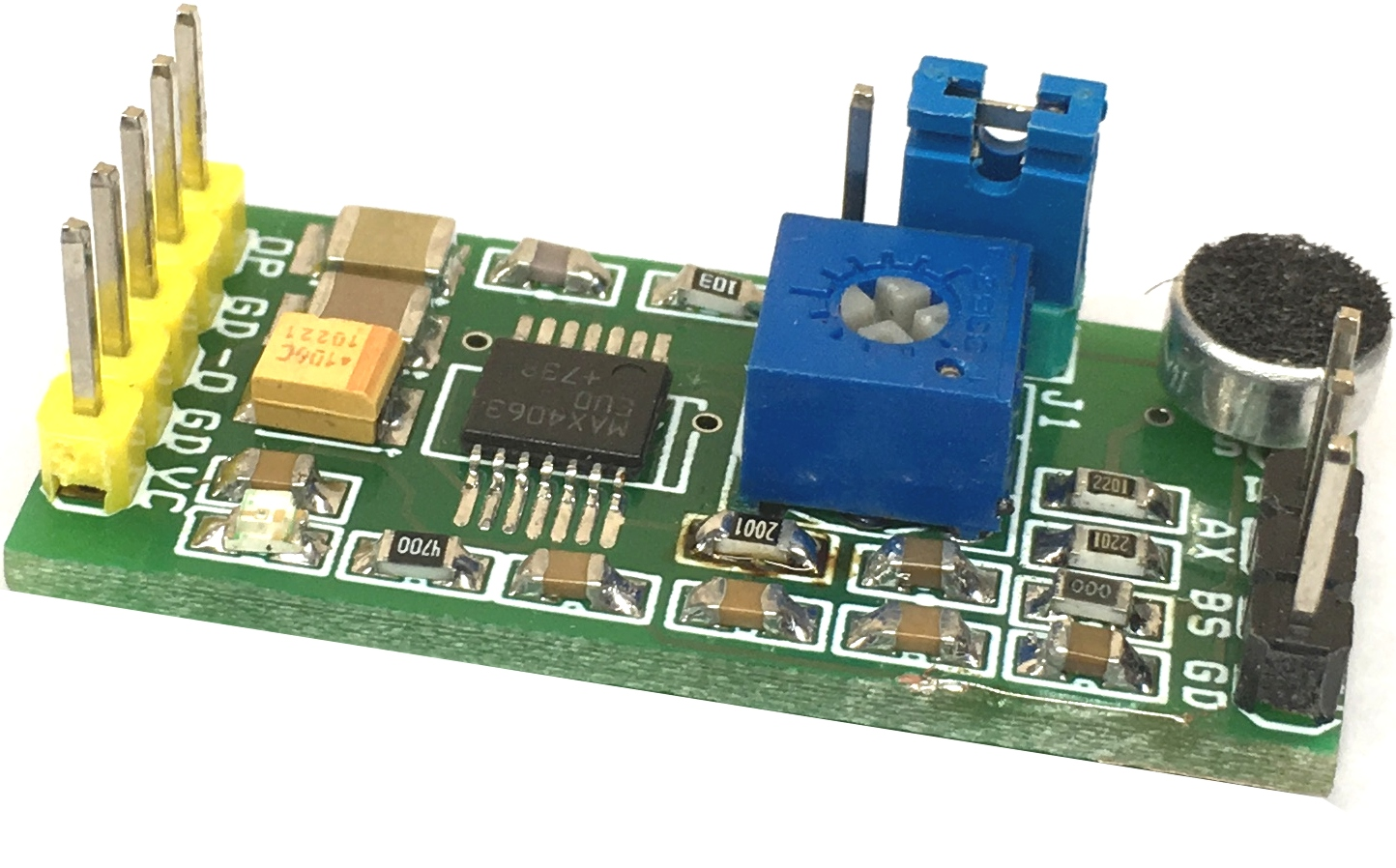 Differential Microphone Pre-Amplifier