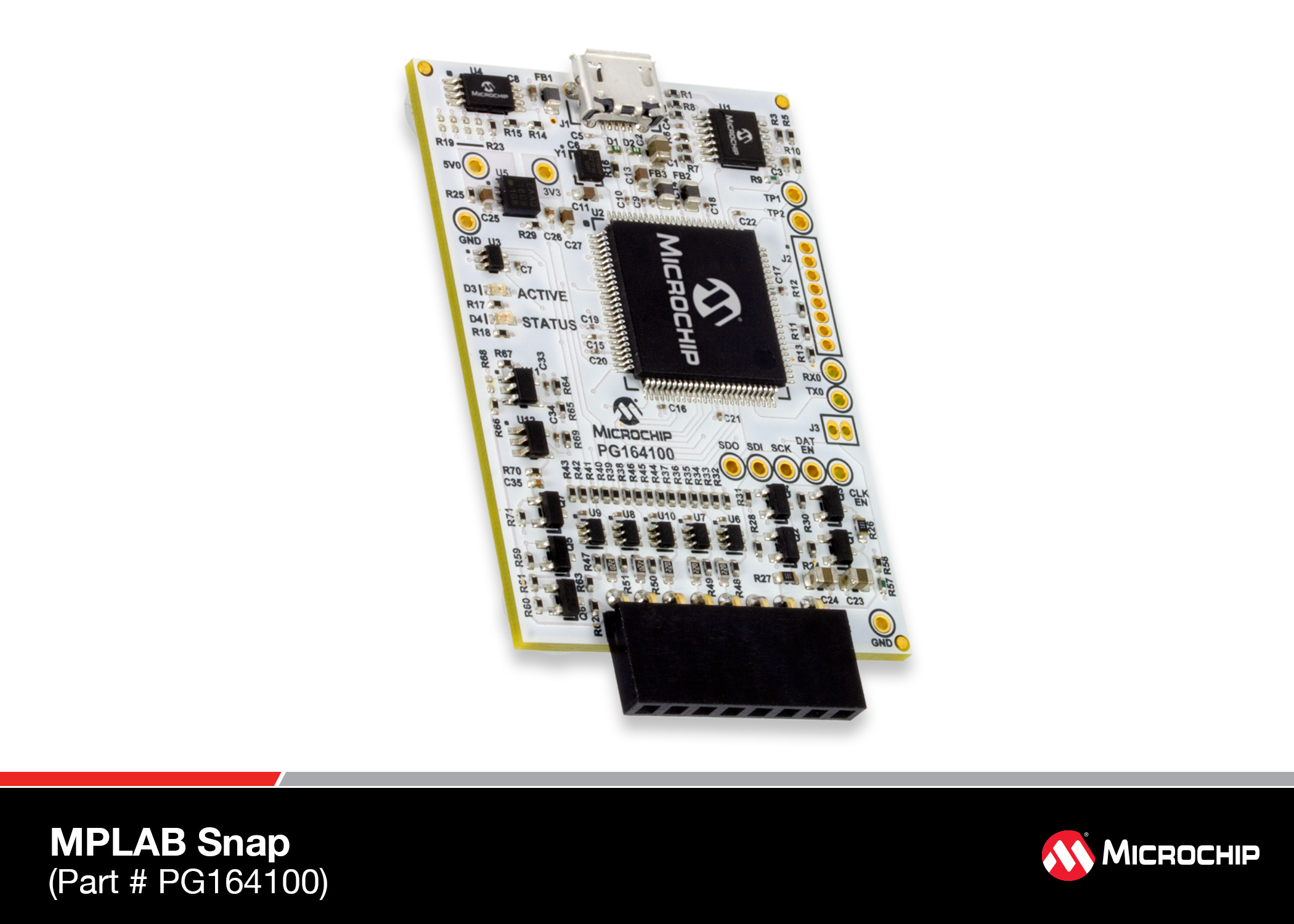 The MPLAB® Snap In-Circuit Debugger/Programmer sells with 50% discount