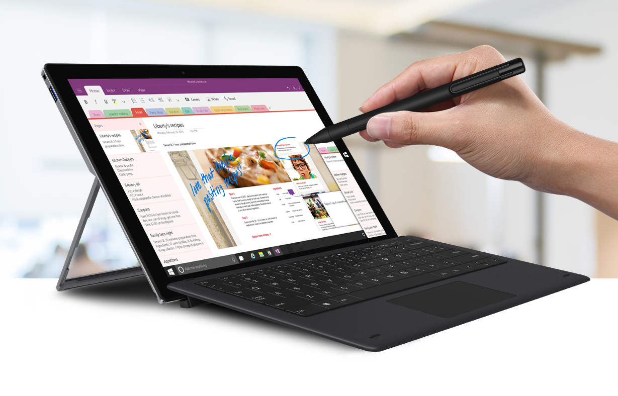 CHUWI UBook Pro is a Low-Cost Alternative to Microsoft Surface Pro 6