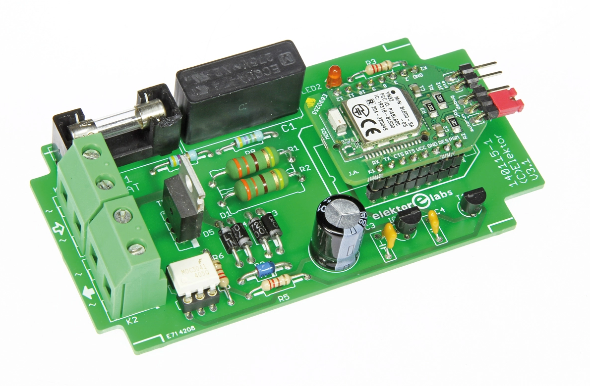 Free Elektor Article: Line AC Switch Controlled by Bluetooth Low Energy
