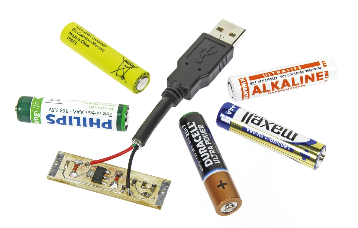 Free Elektor Article: USB Pseudo Battery