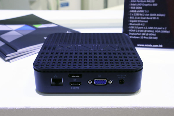 MINIX Unveils NEO G41V-4 Fanless Windows 10 Pro Mini PC
