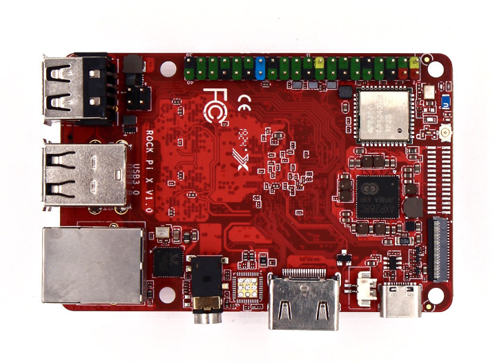 Rock Pi X Intel Cherry Trail Board to Sell for as low as $39