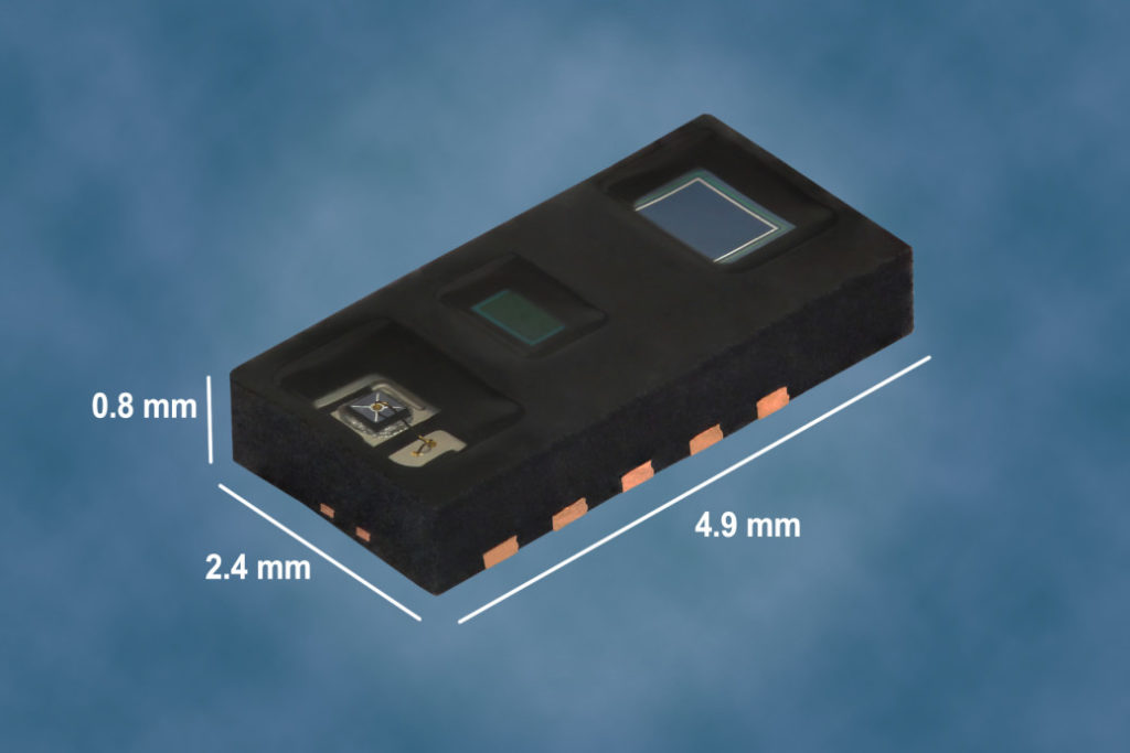 VCNL4020C – High Resolution Digital Biosensor for Wearable Applications