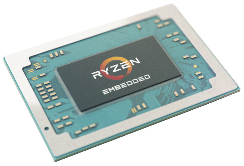 Compact module taps AMD's Ryzen Embedded V1000