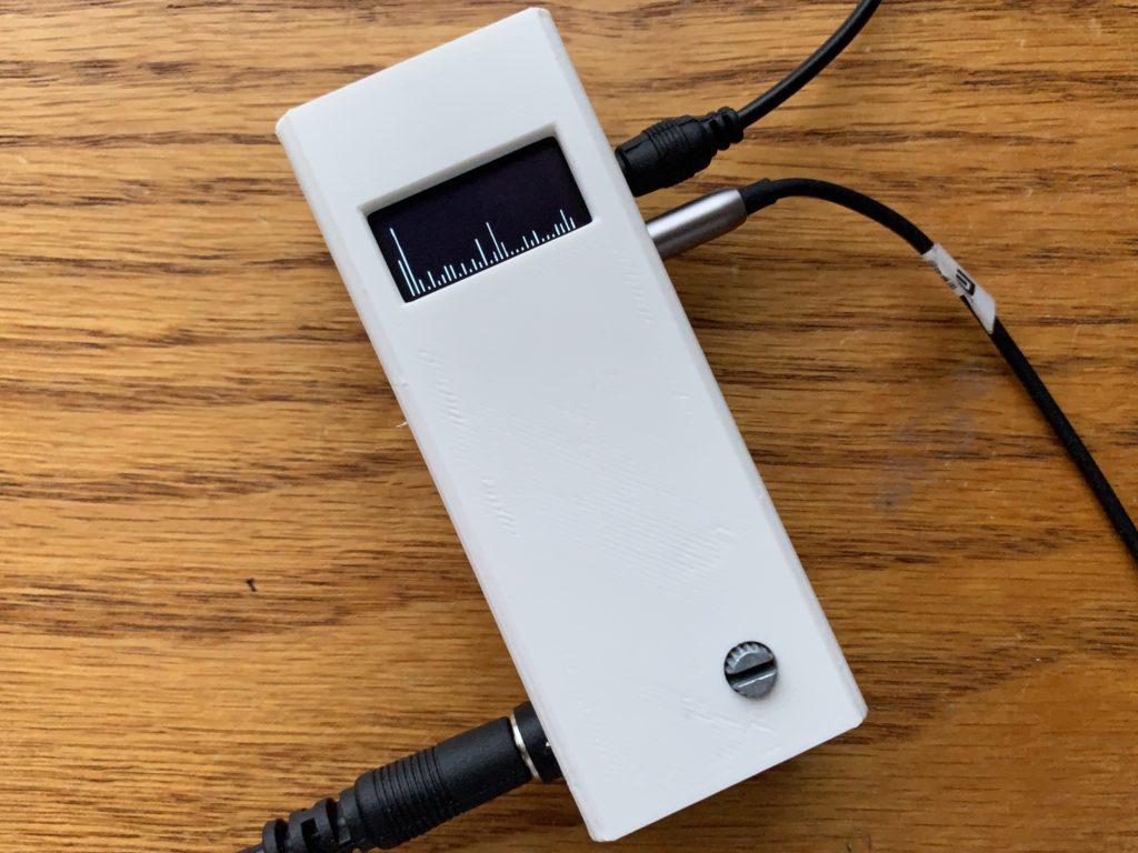 Attiny85 Audio Spectrum Analyzer on OLED display