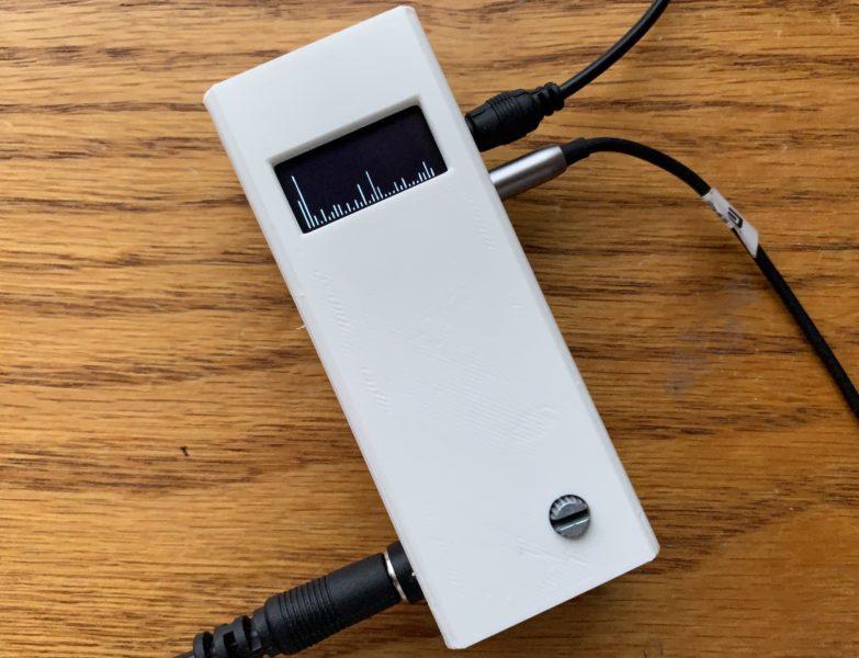 32 band Audio Spectrum Analyzer using OLED display and Attiny85