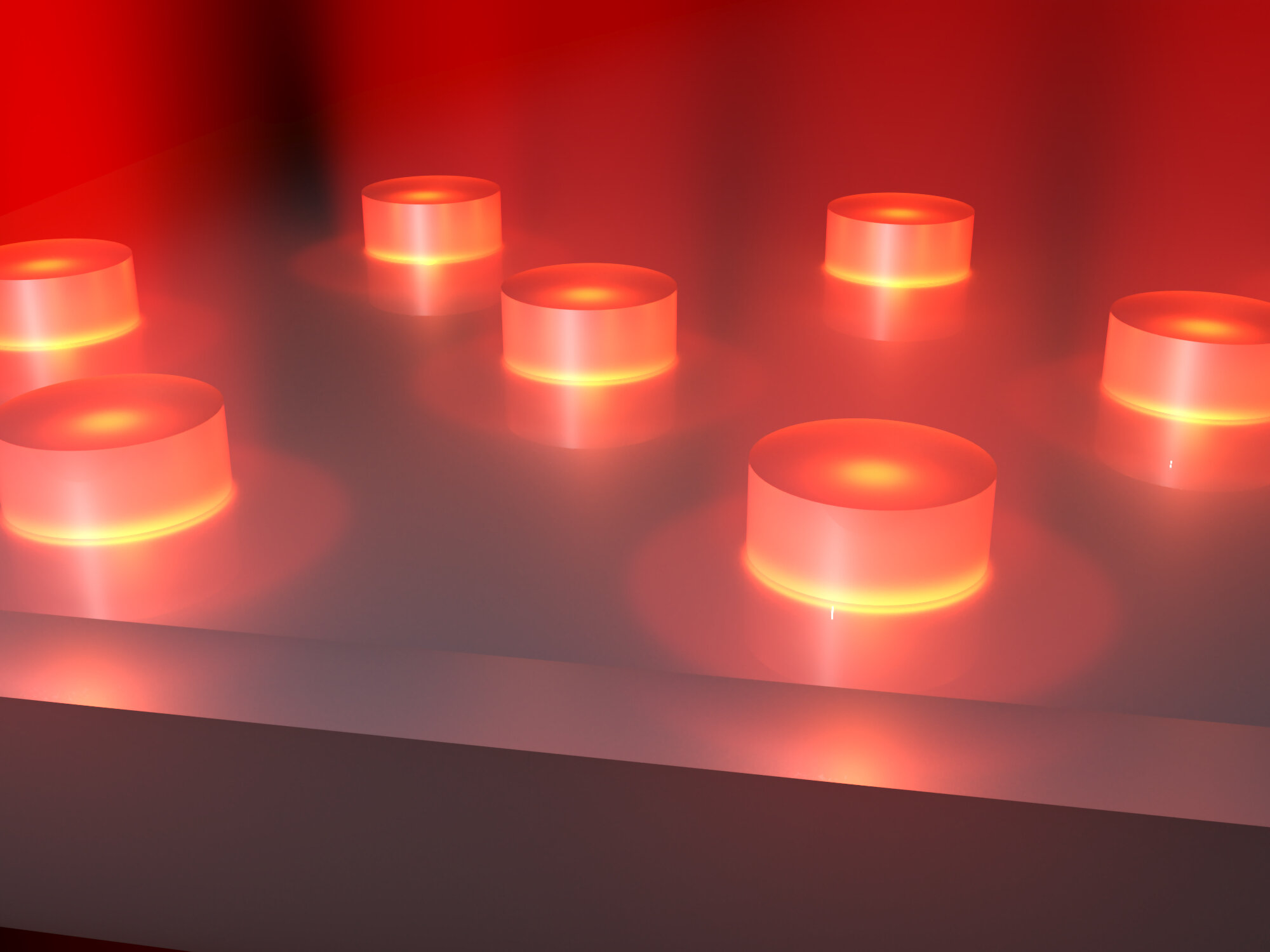 Incandescent light bulbs at the nanoscale