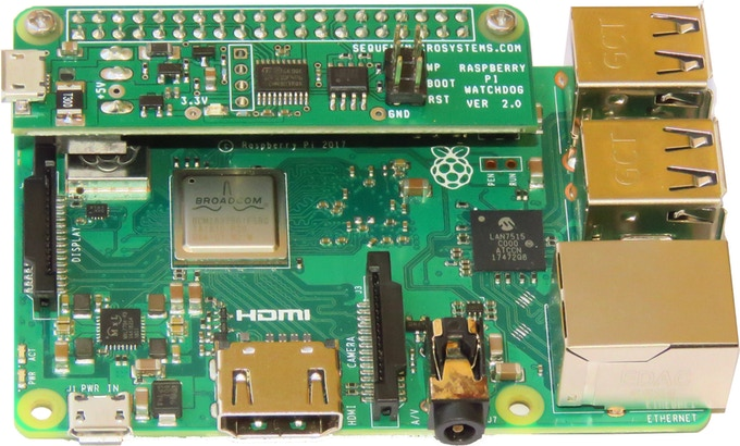 A Hardware Watchdog HAT and Power Manager for Your Raspberry Pi
