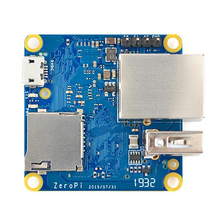 FriendlyELEC ZeroPi is a Tiny Allwinner H3 SBC with Gigabit Ethernet, USB, an Optional SPI Flash