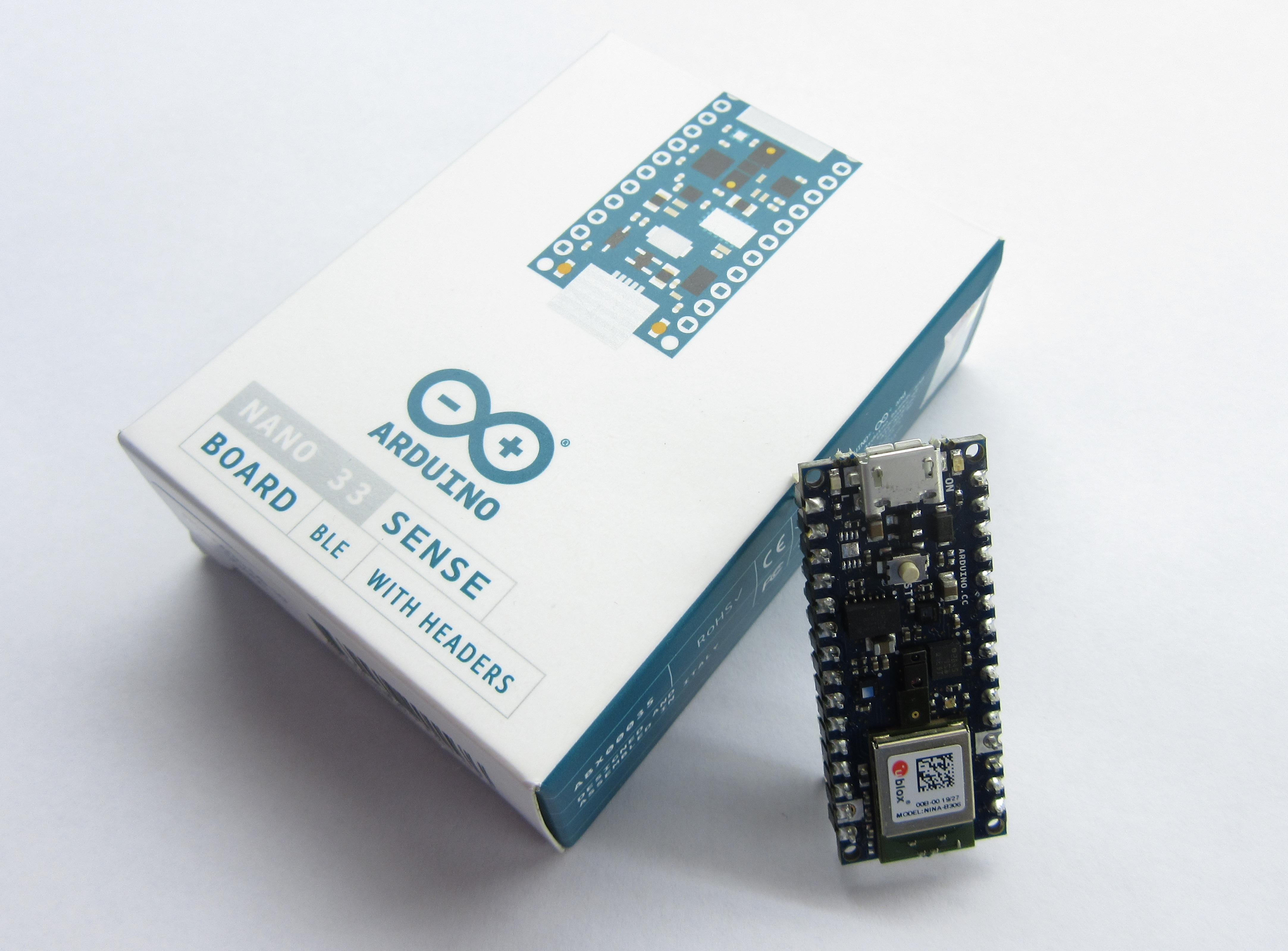 Nano 33 Sense Arduino board