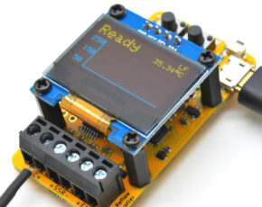 Tiny Reflow Controller with OLED display