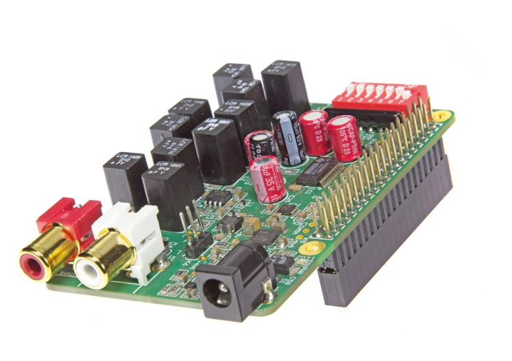 Audio DAC for Raspberry Pi