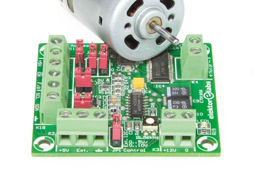 Free Elektor Article: Precision Control for DC Motors