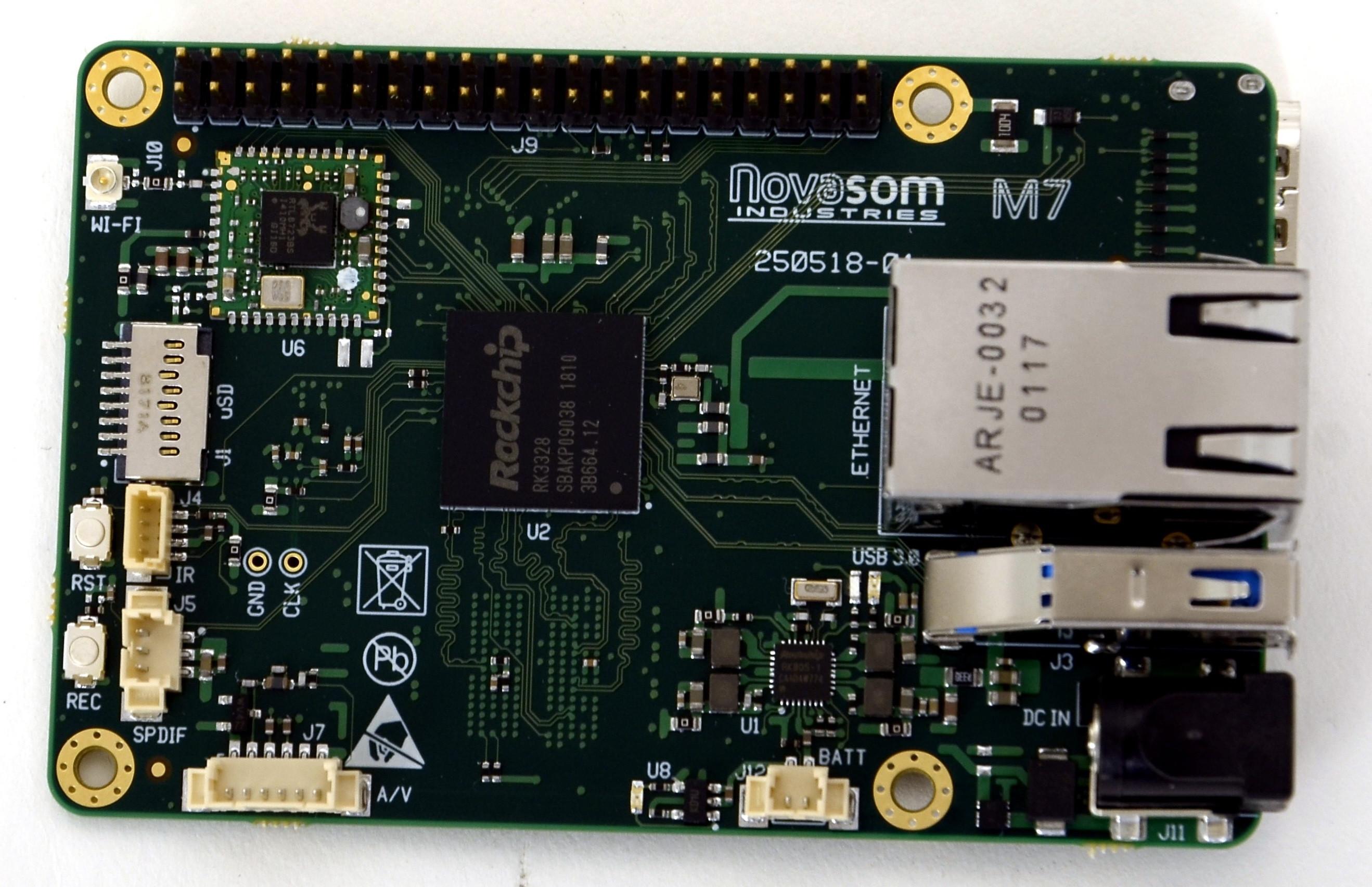 RK3328-based industrial SBC eases Raspbian porting