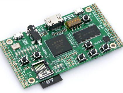 A powerful, open hardware ECP5 FPGA dev board