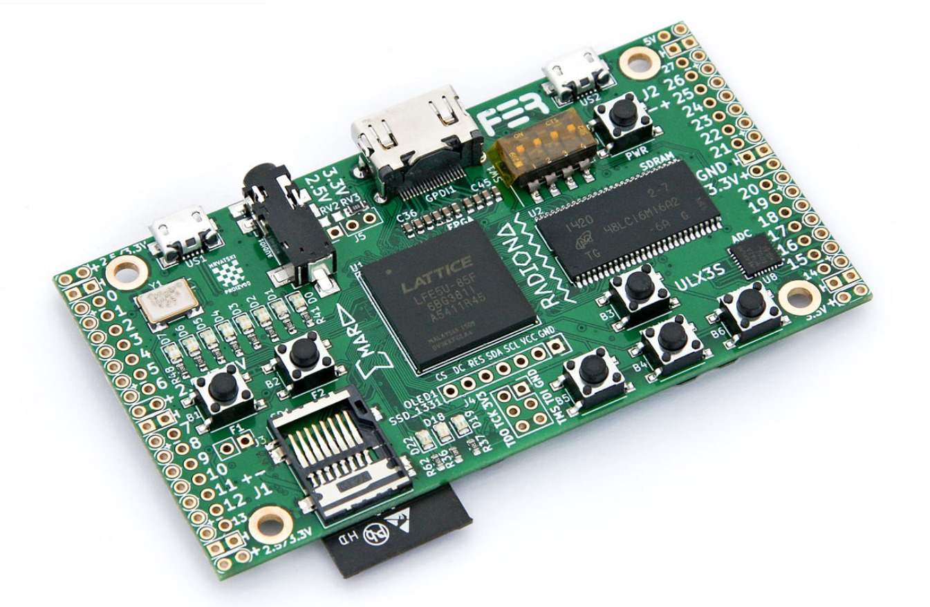 A powerful, open hardware ECP5 FPGA dev board