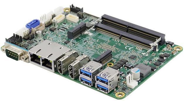 Compact AMD Ryzen™ SBC Featuring Four Independent 4K Displays
