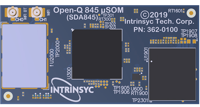 Intrinsyc Announces New Premium-Tier System on Module based on Qualcomm Technologies' SDA845 System on Chip