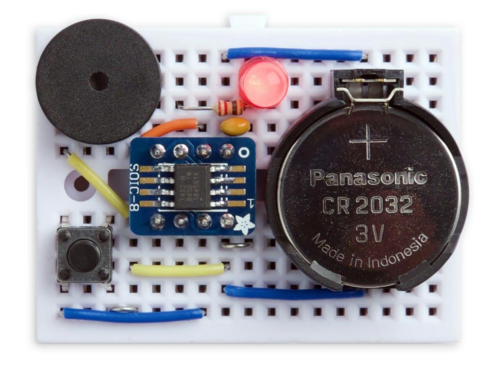 ATtiny402 Timer with low power sleep mode
