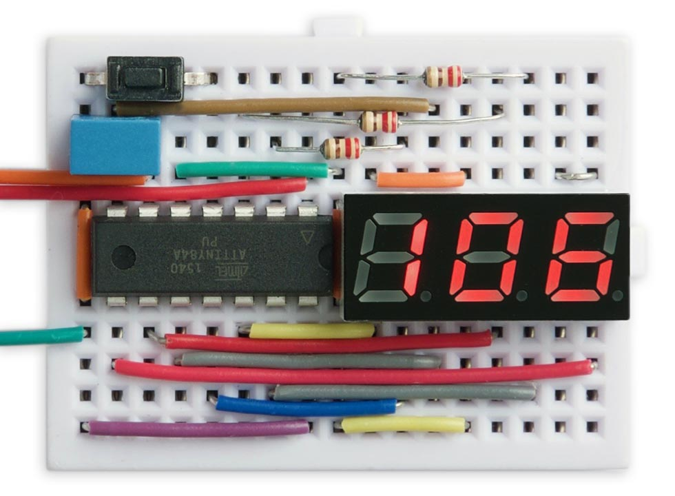 Nano Current Meter using ATtiny84