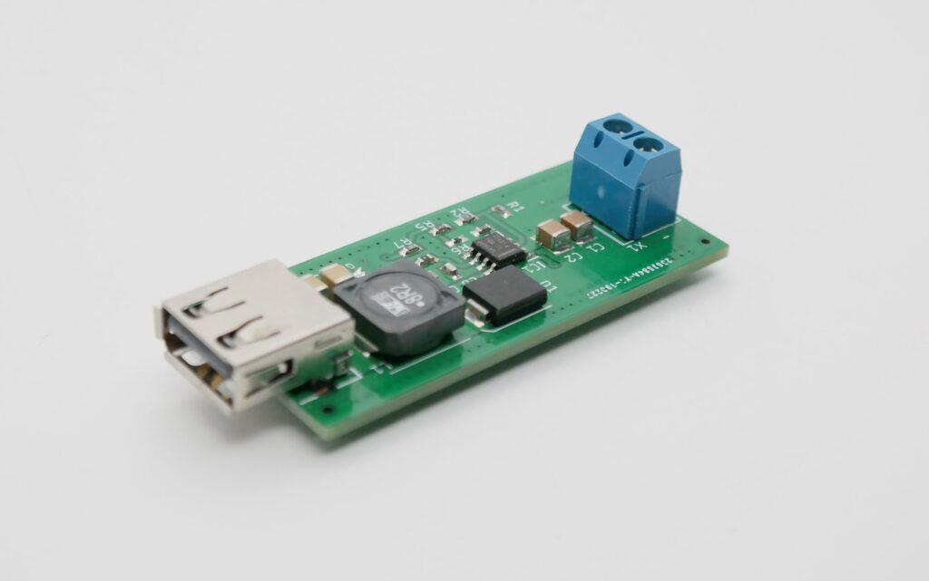 60V to 5V @ 3.5A Buck converter with USB output