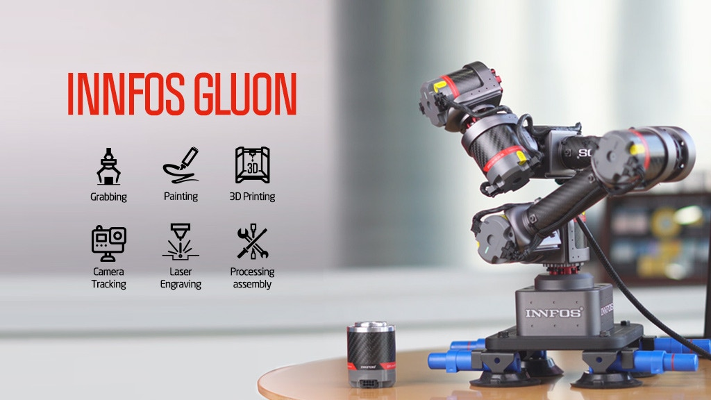 GLUON丨Modular Desktop Collaborative Robotic Arm by SCA
