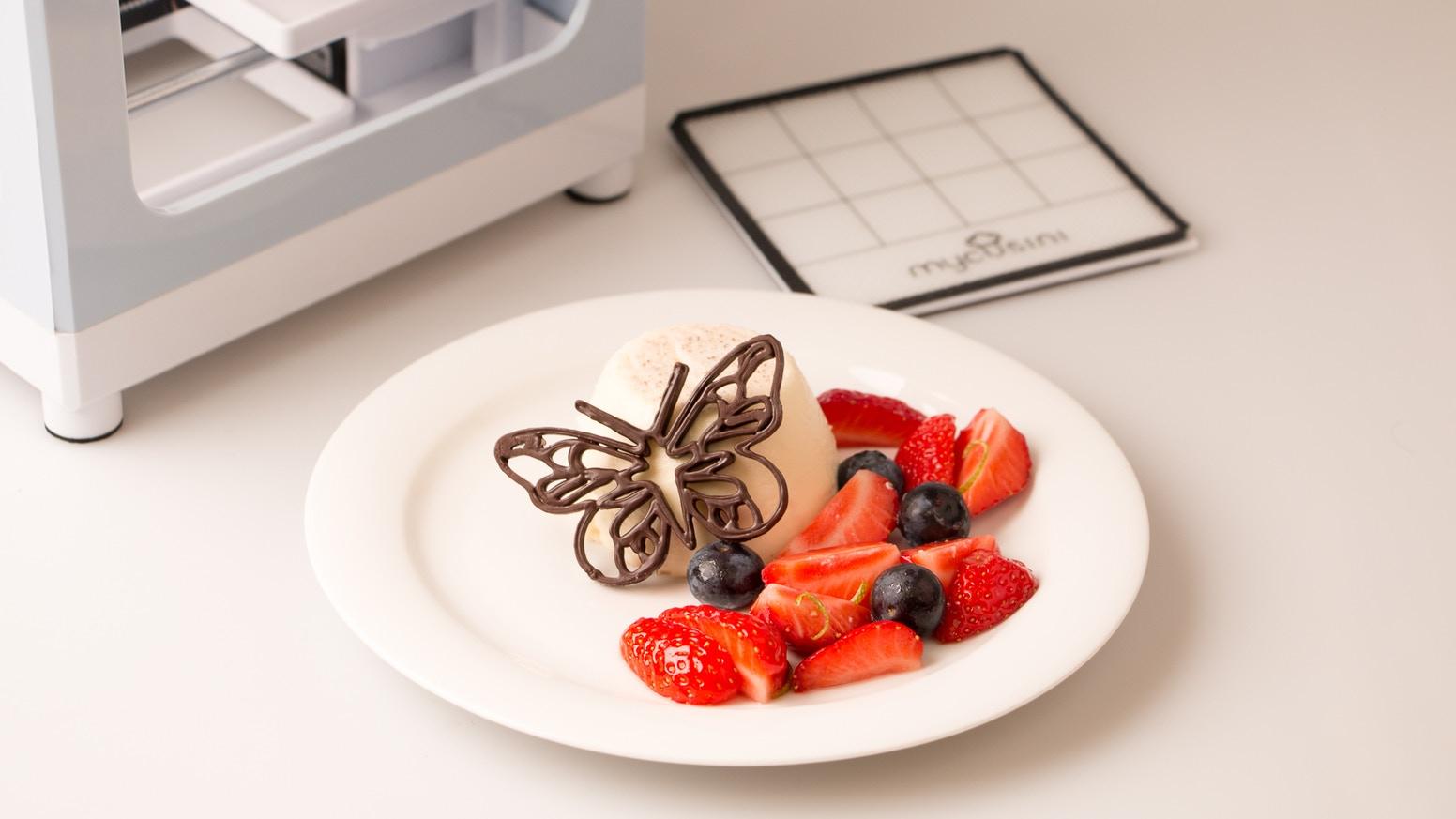 First mycusini 3D Choco printers are shipped already